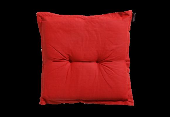 Madison Hocker kussen | Basic Red | 50x50cm