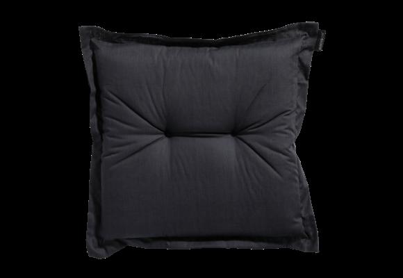 Madison Hocker kussen | Basic Black | 50x50cm