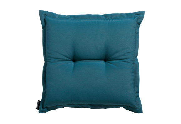 Madison Hocker kussen | Panama Sea Blue | 50x50cm