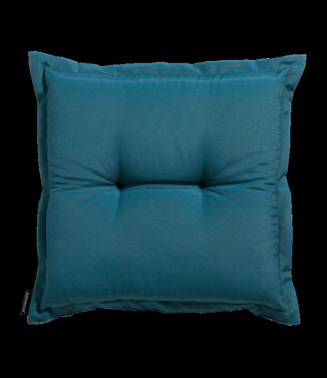 Madison Madison Hocker kussen | Panama Sea Blue | 50x50cm