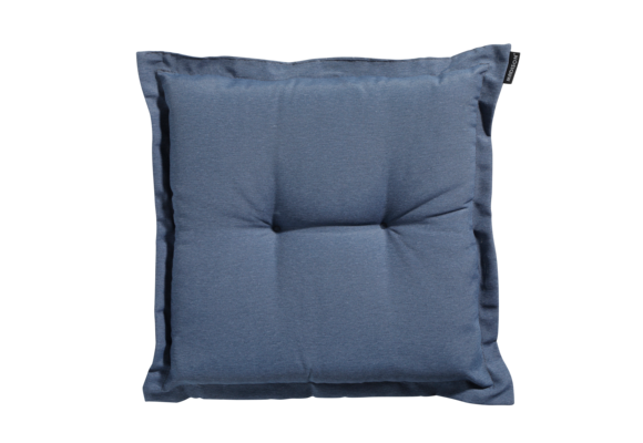 Madison Hocker kussen | Panama Safier Blue | 50x50cm