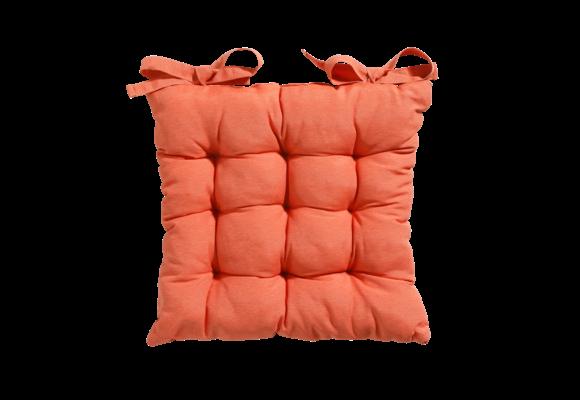 Madison Toscane kussen   Panama Flame Orange   46x46cm