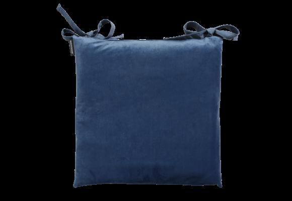 Madison Toscane kussen | Outdoor Velvet Blue | 46x46cm