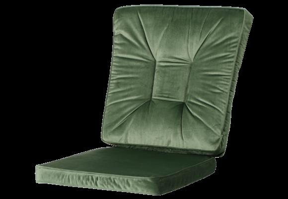 Madison Wicker dining set | Outdoor Velvet Green | 46x95cm