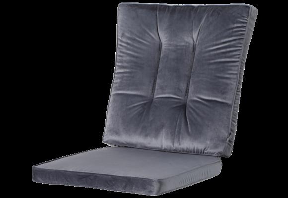 Madison Wicker dining set | Outdoor Velvet Grey | 46x95cm