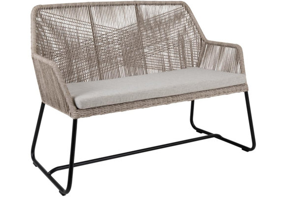Loungebank Midway | 2-persoons | Sand | Rope | Brafab