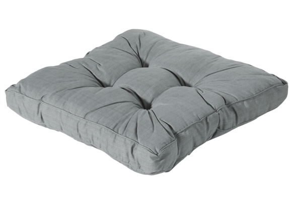 Madison Florance Loungekussen | Basic Grey | ca. 60x60cm
