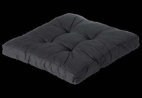 Madison Florance Loungekussen | Basic Black | ca. 60x60cm