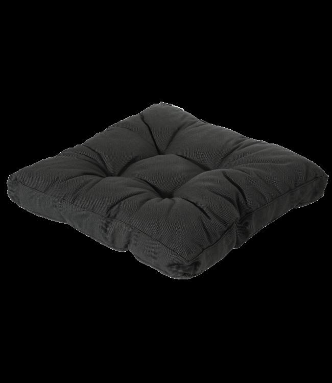 Madison Madison Florance Loungekussen | Rib Black | ca. 60x60cm