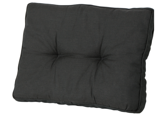 Madison Florance Loungekussen | Rib Black | ca. 73x43cm