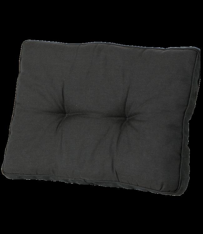Madison Madison Florance Loungekussen | Rib Black | ca. 73x43cm