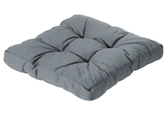Madison Florance Loungekussen | Rib Grey | ca. 60x60cm