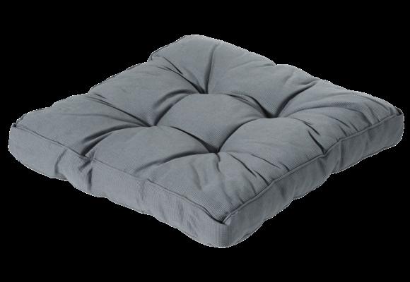 Madison Florance Loungekussen | Rib Grey | ca. 73x73cm
