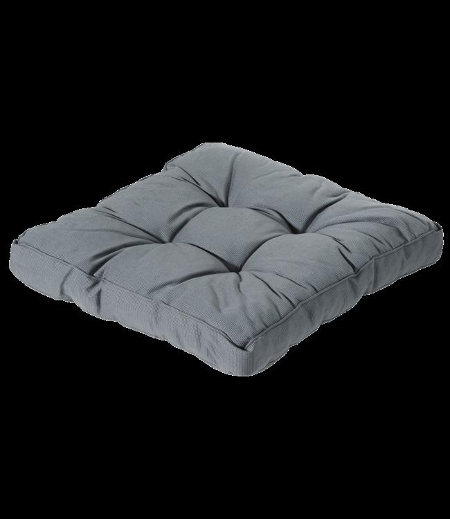 Madison Madison Florance Loungekussen | Rib Grey | ca. 73x73cm