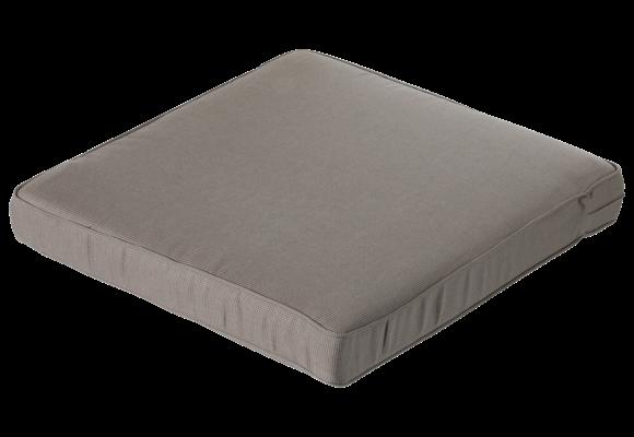 Madison Luxe Loungekussen | Rib Liver | 73x73cm