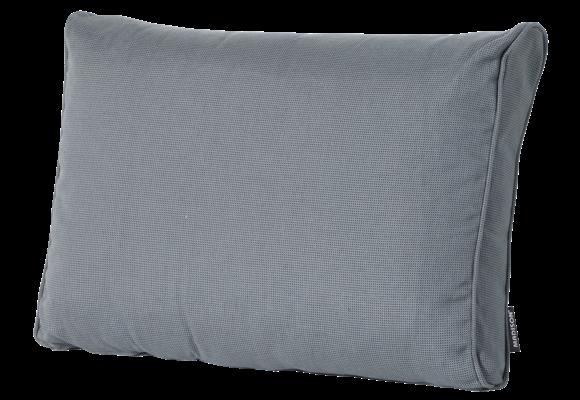 Madison Luxe Loungekussen | Rib Grey | 60x40cm
