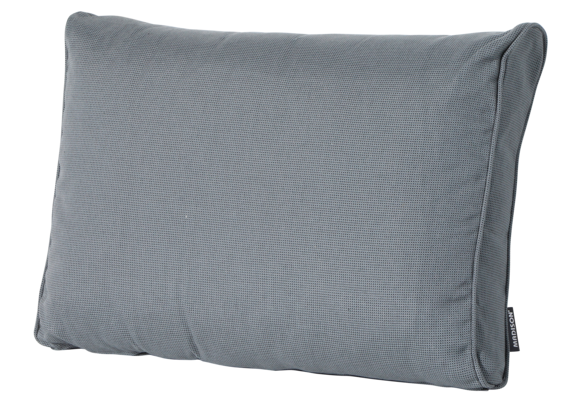 Madison Luxe Loungekussen | Rib Grey | 73x40cm