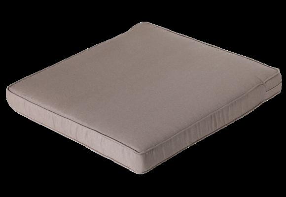 Pure Luxe Loungekussen | Panama Taupe | 60x60cm