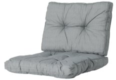 Madison Florance Loungekussens | ca. 73x73 + 73x43cm