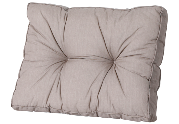 Madison Florance Loungekussen   Basic Taupe   60x43cm