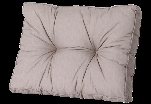 Madison Florance Loungekussen   Basic Taupe   73x43cm