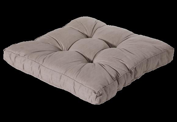 Madison Florance Loungekussen | Basic Taupe | 73x73cm