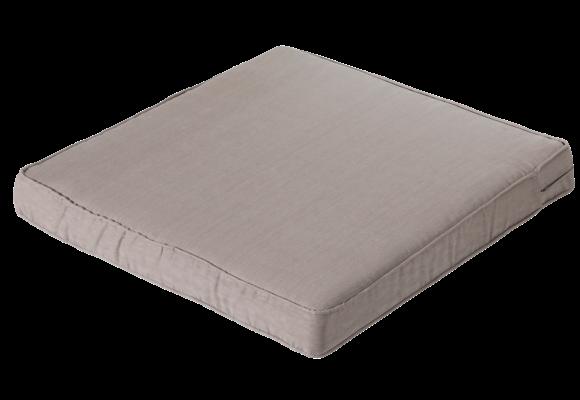 Madison Luxe Loungekussen | Basic Taupe | 73x73cm