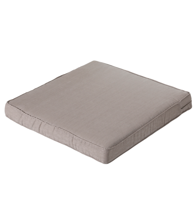 Madison Madison Luxe Loungekussen | Basic Taupe | 73x73cm