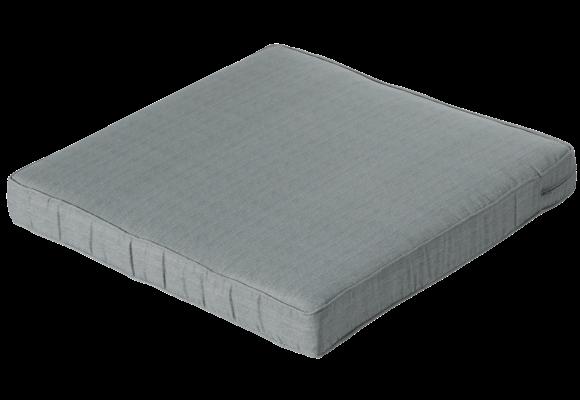 Madison Luxe Loungekussen | Basic Grey | 73x73cm
