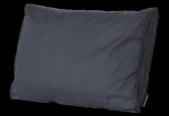 Madison Luxe Loungekussen | Basic Black | 60x40cm