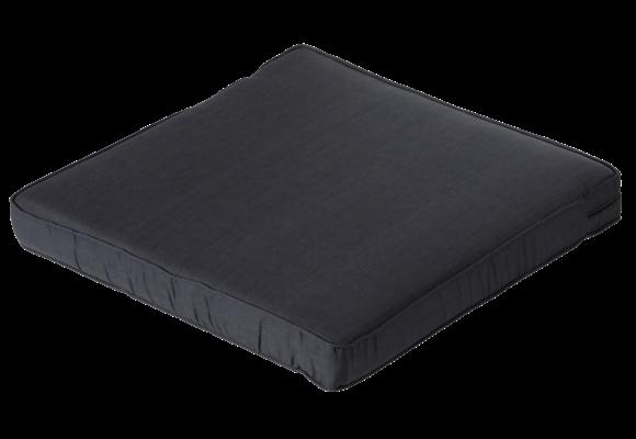 Madison Luxe Loungekussen | Basic Black | 73x73cm