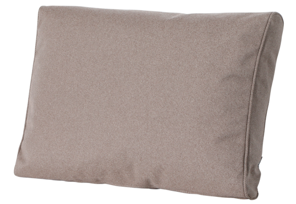 Madison Luxe Loungekussen   Outdoor Manchester Taupe   73x40cm