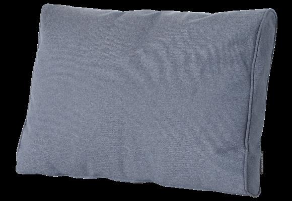 Madison Luxe Loungekussen   Outdoor Manchester Denim Grey   73x40cm