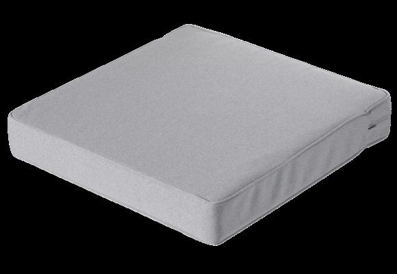Madison Luxe Loungekussen   Outdoor Manchester Light Grey   73x73cm