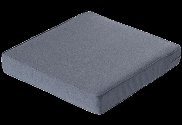 Madison Luxe Loungekussen | Outdoor Manchester Denim Grey | 73x73cm
