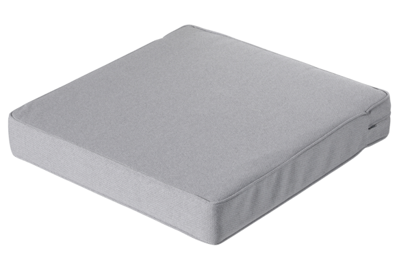 Madison Luxe Loungekussen | Outdoor Manchester Light Grey | 60x60cm