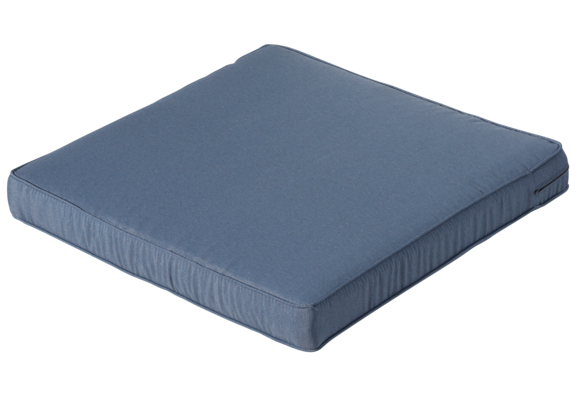 Madison Luxe Loungekussen | Panama Safier Blue | 60x60cm