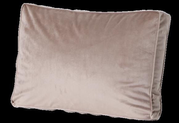 Madison Luxe Loungekussen | Outdoor Velvet Taupe | 60x40cm