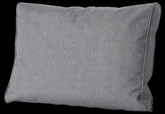 Madison Luxe Loungekussen | Outdoor Oxford Grey | 60x40cm