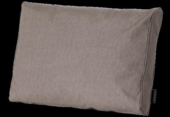 Madison Luxe Loungekussen | Outdoor Oxford Taupe | 60x40cm