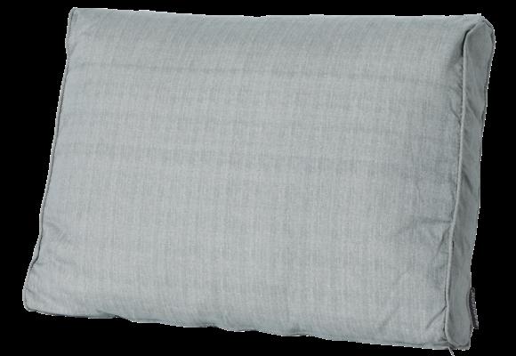 Madison Luxe Loungekussen | Basic Grey | 60x40cm