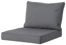 Madison Luxe Outdoor Loungekussens | 4 SETS | 60x60 + 60x40cm | Extra dik
