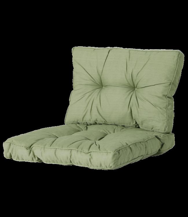 Madison Madison Florance Loungekussens | Basic Green | ca. 60x60 + 60x43cm