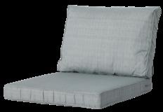Madison Luxe Loungekussens   4 SETS   73x73 + 73x40cm