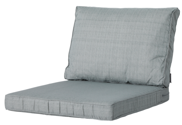 Madison Luxe Loungekussens | 4 SETS | Basic Grey | 60x60 + 60x40cm