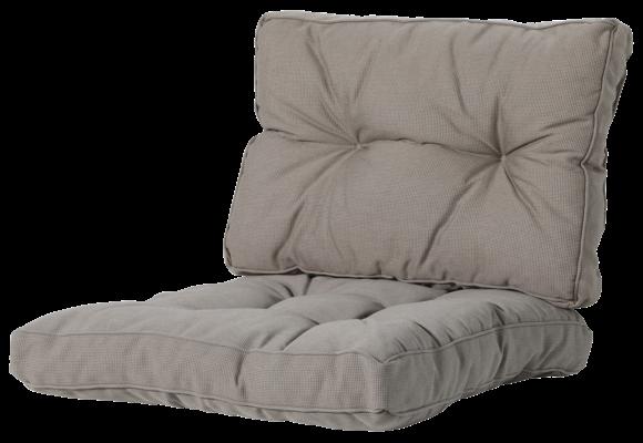 Madison Florance Loungekussens | Rib Liver | 4 SETS | ca. 60x60 + 60x43cm