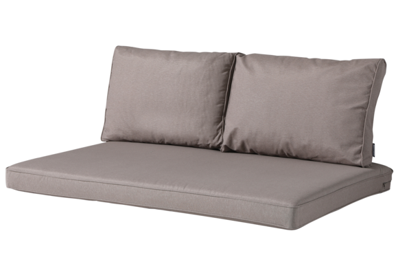 Madison Lounge palletkussen set | Panama Jute | 120x80cm + rugkussens