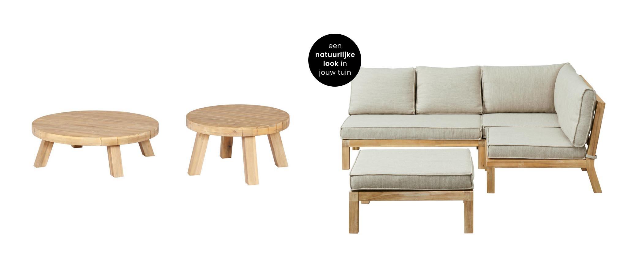 Kent loungeset hout