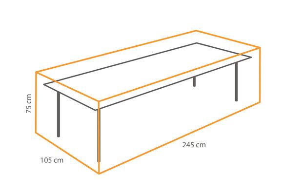 Outdoor Covers Tafel beschermhoes | 245x105x75cm
