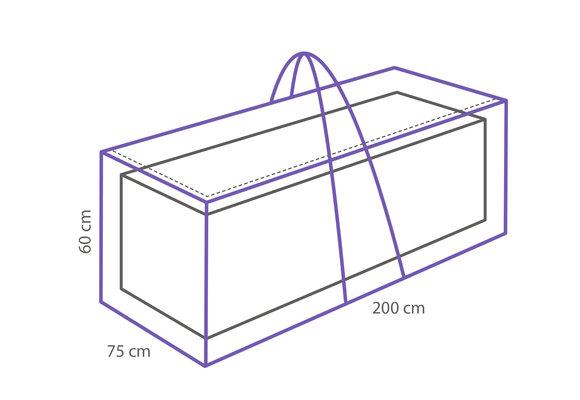 Outdoor Covers Kussen opbergtas | 200x75x60cm
